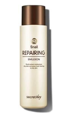 Эмульсия с экстрактом слизи улитки SECRET KEY Snail Repairing Emulsion: фото