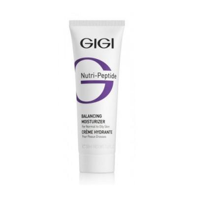 Крем пептидный увлажняющий балансирующий для жирной кожи GIGI Nutri-Peptide 50 мл: фото