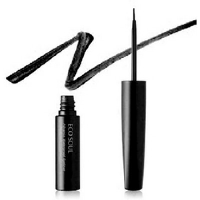 Подводка для глаз THE SAEM Eco Soul Advanced Powerproof Eyeliner 01 Black 5гр: фото