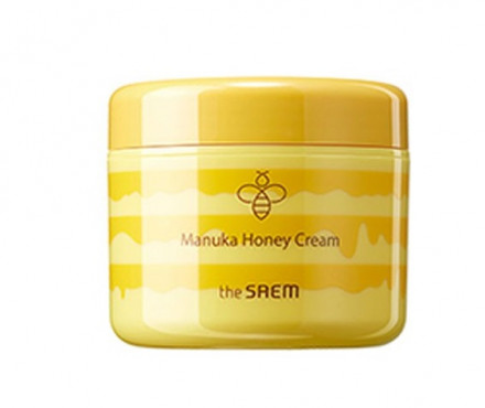 Крем для тела с экстрактом меда Манука The Saem Care Plus Manuka Honey Cream 100мл: фото