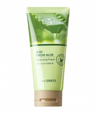 Пенка для умывания THE SAEM Jeju Fresh Aloe Cleansing Foam 150г: фото