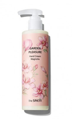Крем для рук THE SAEM Garden Pleasure Hand Cream Magnolia 250мл: фото
