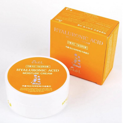 Крем для лица с гиалуроновой кислотой Ekel Moisture Cream Hyaluronic Acid 100 мл: фото