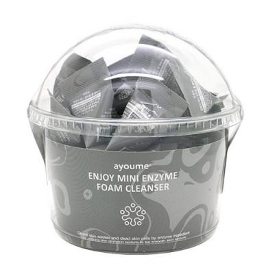 Пенка энзимная для умывания AYOUME ENJOY MINI ENZYME FOAM CLEANSER set 3гр*200шт: фото
