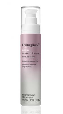 Сыворотка для укладки сухих, поврежденных волос LIVING PROOF Smooth Blowout Concentrate 45мл: фото