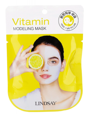 Альгинатная маска с витаминами Lindsay Vitamin Modeling Mask 28г: фото