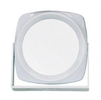 Зеркало двухстороннее настольное Titania 150*150 мм: фото