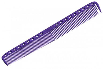 Расческа для стрижки многофункциональная комбинированная Y.S.PARK YS-335 фиолетовая: фото