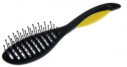Щетка для укладки волос изогнутая TITANIA: фото
